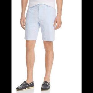 Vineyard Vines Shorts - VGUC Vineyard Vines Seersucker Short Blue/White 33